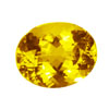 25x20 mm Oval Shape Simulated Citrine in Super Fine Grade
