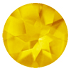 9 mm Round Buff Top Golden Citrine in A Grade