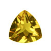 5 mm Trillion Golden Citrine in A Grade