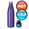 Mystic Rainbow Stainless Steel Double Wall Insulated Cola Bottle