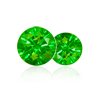 0.16 Cts twt. Green Diamond Lot size 1.0 mm (0.005 cts)