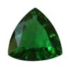 3 mm Trillion Green Tourmaline in AA grade