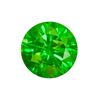2.5 mm Green Diamond SI Clarity