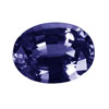 5x3 mm Oval Iolite in Superfine Grade