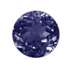 Iolite Faceted Violet Blue Round   5.0x5.0 mm.  VS  clarity AAA