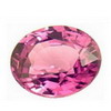 5x4 mm Oval Pink Sapphire in AA Grade