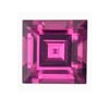 3 mm Square Pink Tourmaline in AAA grade