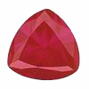 1.31 Carats Trillion Rubies Grade A Lot 3-5 mm