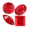 20 Cts twt. Mix Raspberry Red Ruby Lot size (2-5 Ct.)