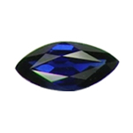 10X5 mm Marquise Blue Sapphire in AA Grade
