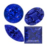 10 Carats (0.25-0.50 Carats) Mixed Fine Blue Sapphire