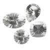 800 Cts twt. Mixed Diamond Quartz Lot size (10-50 cts)