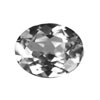 18x13 mm Oval White Topaz in A Grade