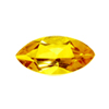 6.5X3.5 mm Marquise Yellow Sapphire in AA Grade